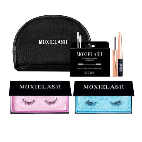 Give the gift of magnetic eyeliner and lashes from Moxielash with our Baby Lash Kit!