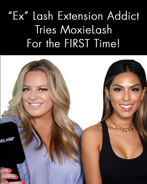 "Check out what this ""ex"" lash extension addict thinks about  MoxieLash!"