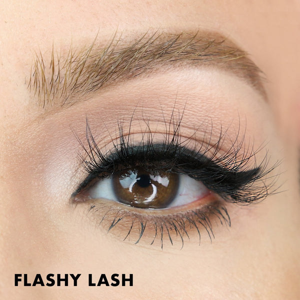 Flashy Magnetic Lash is a mid volume natural looking eyelash style.