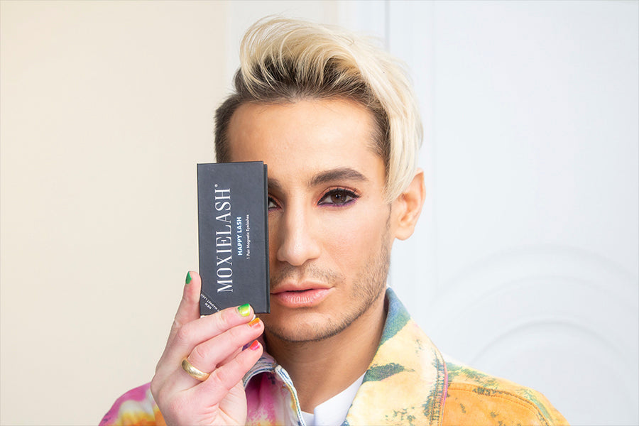 Take a look at the MoxieLash Magnetic Lashes that Frankie Grande, Ariana Grande's brother loves!