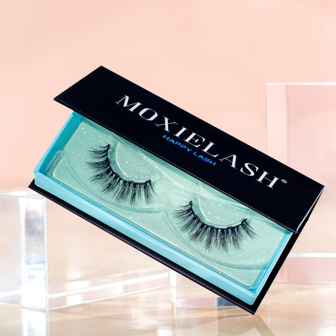 Our new Happy Lash is perfect for the girl who want a 3D lash look.
