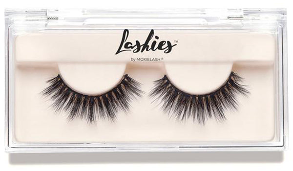 Boujie lash style in Lashies for a glue and magnet free eyelash application.