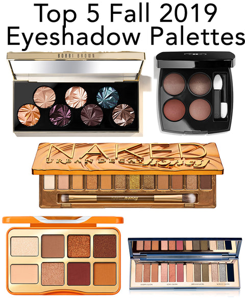 Here are the top 5 Fall 2019 eyeshadow palettes you need to try now for Autumn!