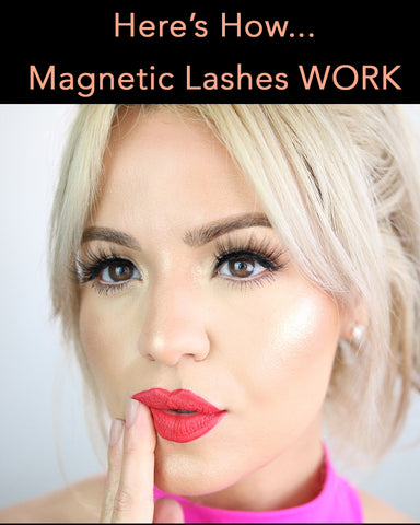 Here's how magnetic lashes work to transform your eyes in just minutes!