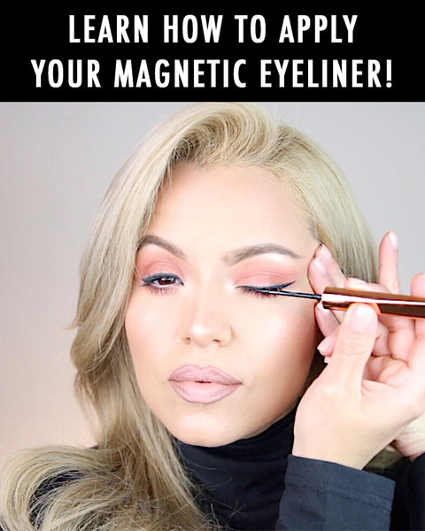 Learn how to apply your MOXIELASH Magnetic Eyeliner in three minutes!