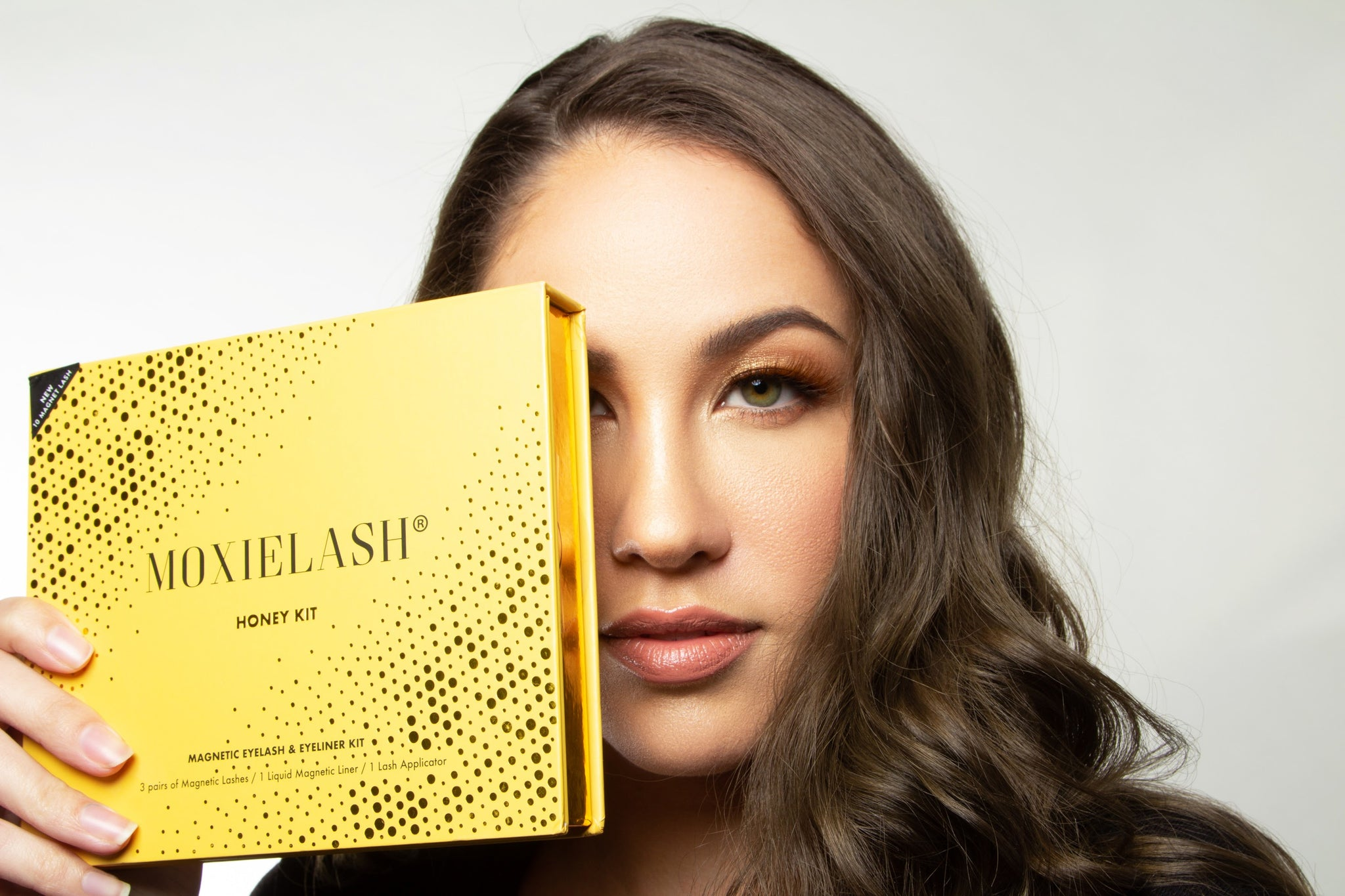 Introducing the first ever brown magnetic lash from MoxieLash!