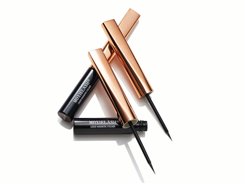 What is the difference between magnetic eyeliner and adhesive.