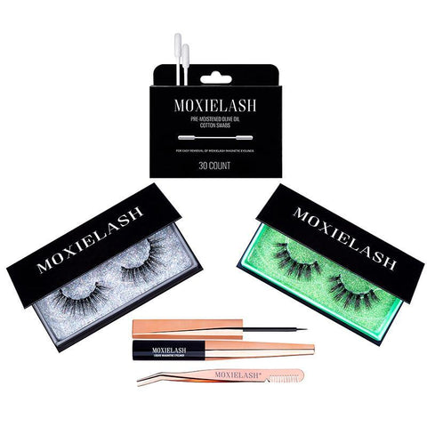 The Mo Money Lash kit is one of the most gaudy and luxurious magnetic eyeliner and false eyelash kits around!