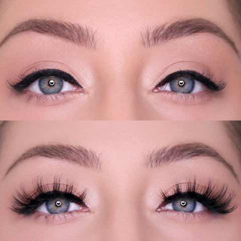 Money Lash is a stunning lash style that is magnetic, easy to apply, and makes your eyes look bigger!