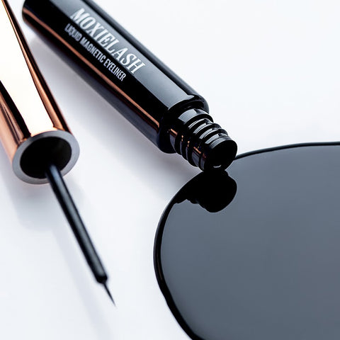 What is in magnetic liquid eyeliner and is it safe to use around your eyes?