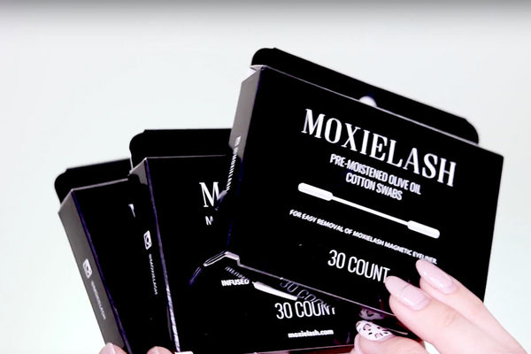 You get three Cotton Swab packages in your MoxieLash MUA Kit!