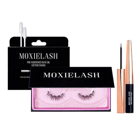 MoxieLash magnetic lash liner starter kit is one of the best ways to get gorgeous and glam lashes in just seconds.
