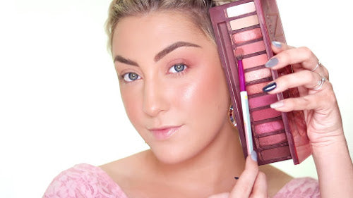 Step 1: Grab a link eyeshadow color for this MoxieLash Valentines Day Look!
