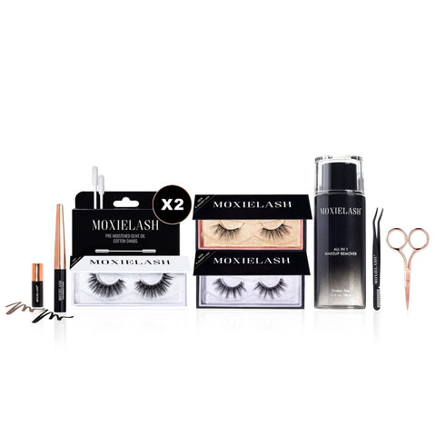Gorgeous magnetic lash bundle with ultimate comfort and hold!