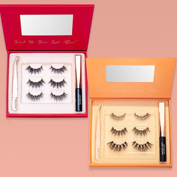 Wifey and Naughty Kit Magnetic Lash Kits are the brand new lashes with easy on application.
