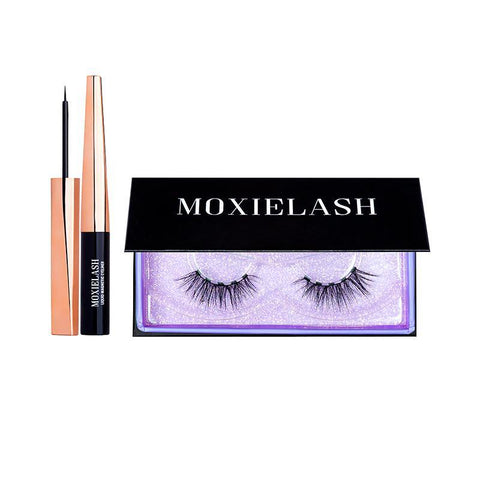 MoxieLash Sassy Lash Kit is an easy magnetic eyeliner and false eyelash stems that gives you a high-impact look in seconds.