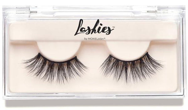 Get a gorgeous mid-glam look with Lashies.