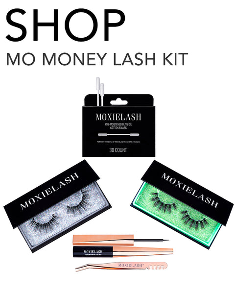 Check out the Mo Money eyelash kit from MoxieLash and see what the most luxurious and gaudy lash of all time looks like!