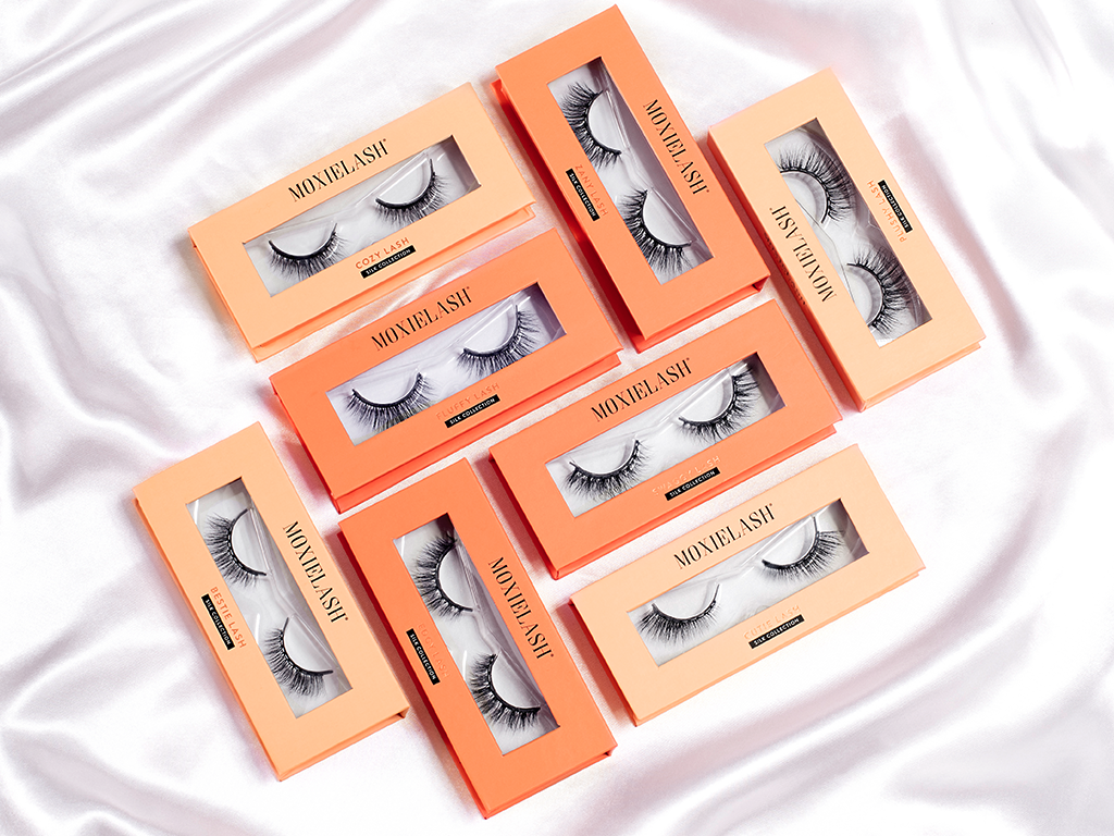 Check out the NEW silk magnetic lashes from MoxieLash.
