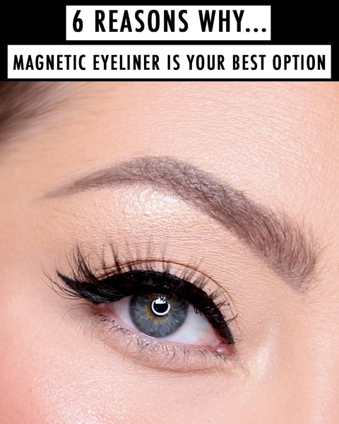 Here are six reasons why MOXIELASH Magnetic Eyeliner is the game changer you need for instant full, fluffy, and beautiful lashes!
