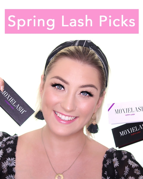 Spring magnetic eyelash picks from MoxieLash that you're going to love!