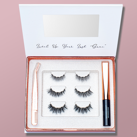 The perfect magnetic eyelash kit for the bridal party.