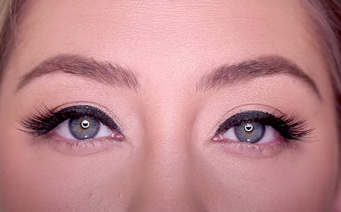 Baby Lash for creating the perfect cat-eye for a sleek, lined eye look!
