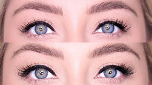 Cheeky Lash before and after lash from MoxieLash.