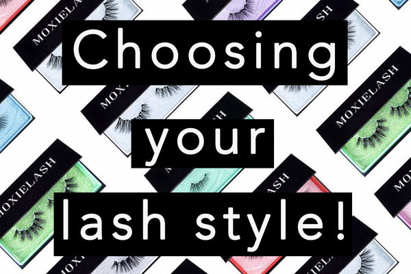 Here's how to choose your magnetic eyelash style