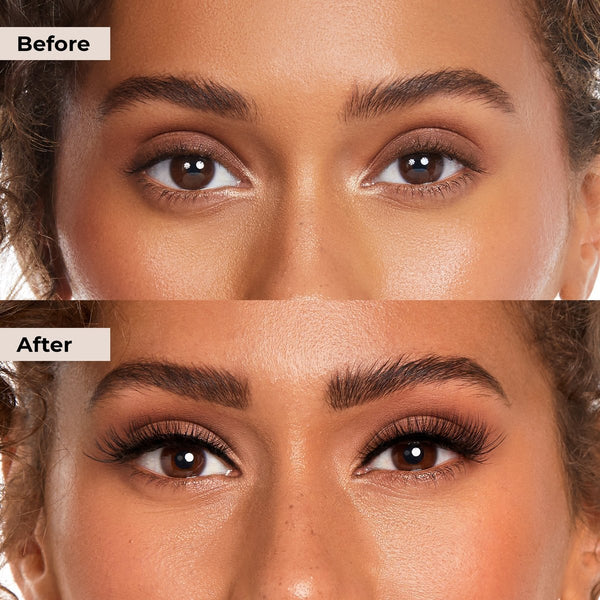 Here is an alternative to lash extensions that will quickly give you lashes in secodns.