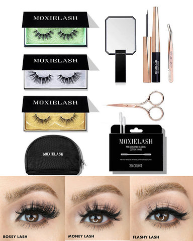 Shop the lash extension kit for gorgeous lashes without the fill time.