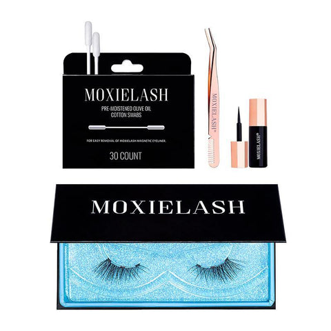 MoxieLash magnetic eyelash kit for busy women on the go Christmas gift ideas.