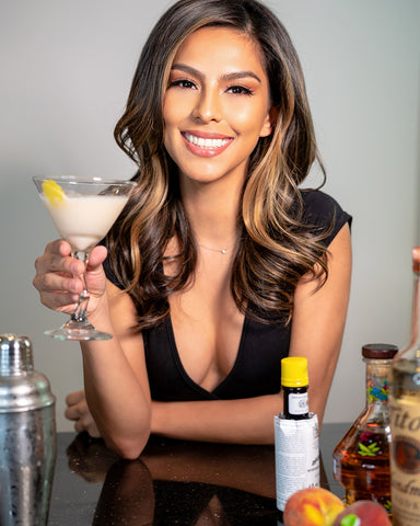 Check out this yummy peach and vodka martini for World Cocktail Day!