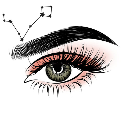 Align your zodiac sign with your magnetic lash style!