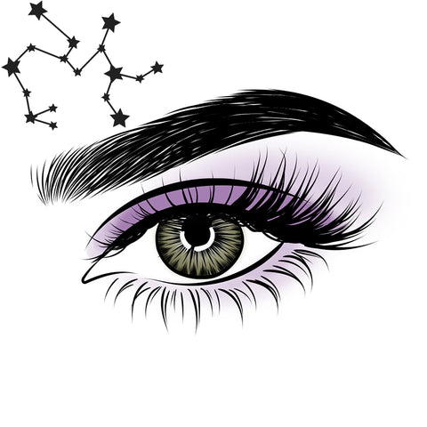 Allign your zodiac sign with your moxielash magnetic lash style.