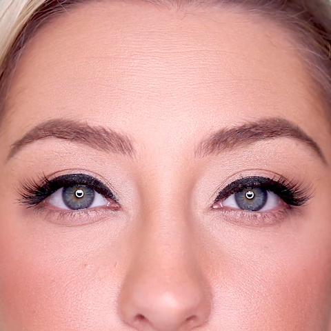Looking at Cheeky Lash and how seeing how it compares to larger lash styles.