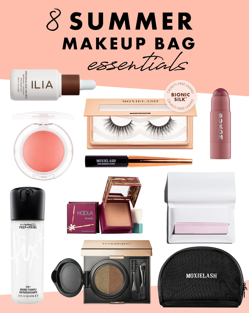 Summer makeup essentials that are waterproof, weatherproof, and won't budge in the summer heat.