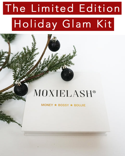 Our limited edition MoxieLash Holiday Glam Kit is here for a very limited time! Get yours before it sells out!