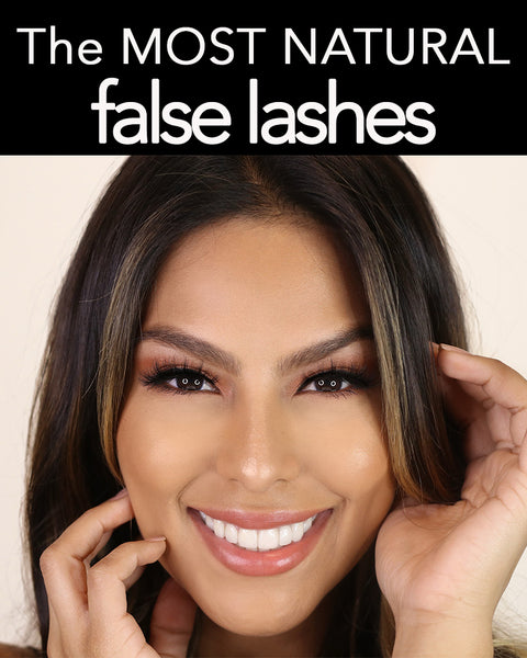 These are the most natural false lash styles you need to try!