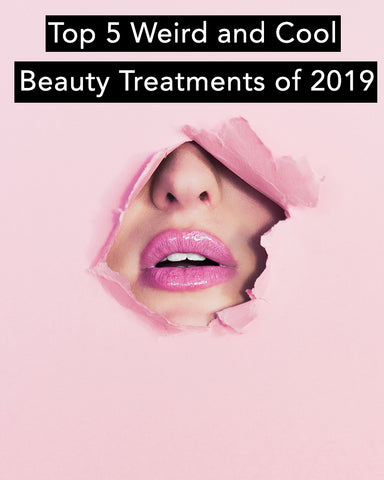 Here are the top 5 Weird Beauty Treatments of 2019 like snail facials and more.