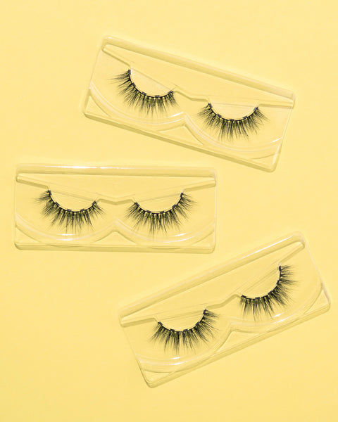 Learn to trim your false lashes with these easy tips and tricks for falsies and magnetic eyelashes.