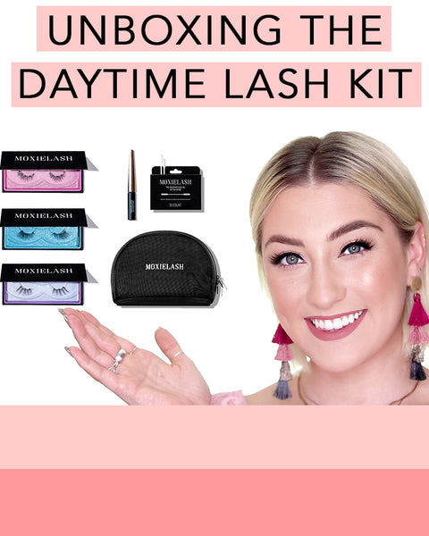 Here is everything included in the Daytime Lash Kit from MoxieLash!