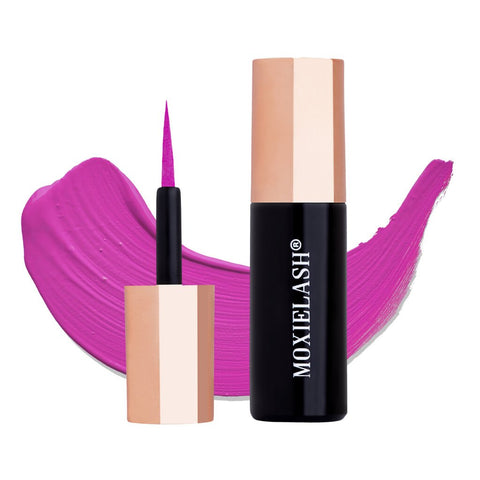 Magenta Colored Mini Liquid Magnetic Eyeliner