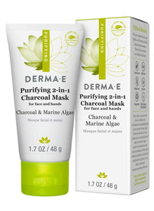 Derma charcoal exfoliating mask for deep pore cleansing