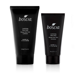 Boscia black mask for acne prone skin and getting a clearer complexion