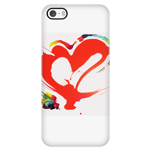 Heart with Style - Cell Phone Cover