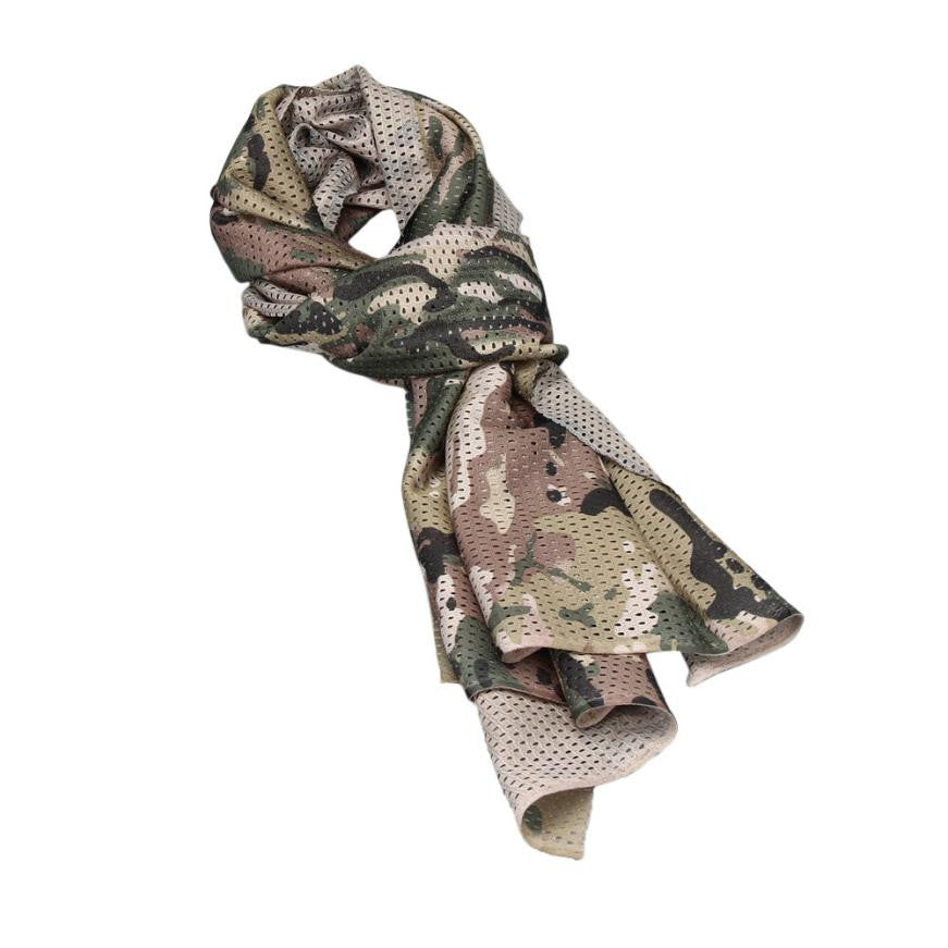 Outdoor Dustproof Ventilation Cycling Multipurpose Camouflage Scarf Manggeon Neckerchief