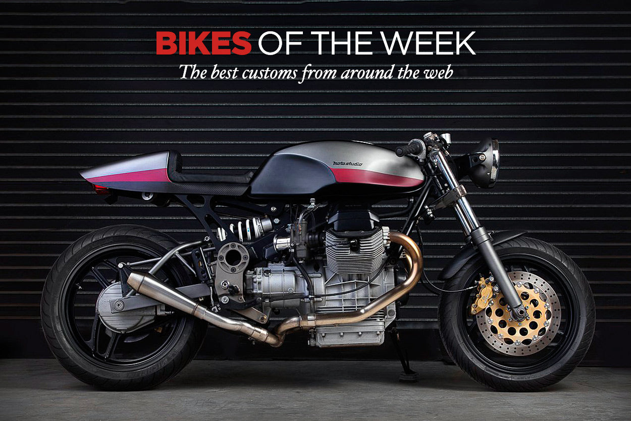 BIKEEXIF's CUSTOM BIKES OF THE WEEK: 15 JANUARY, 2017