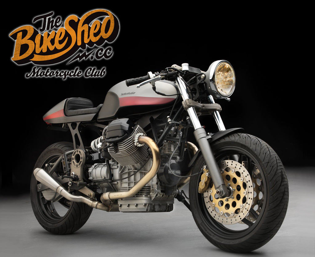THE BIKE SHED: MOTO-STUDIO 'STORMO 219'