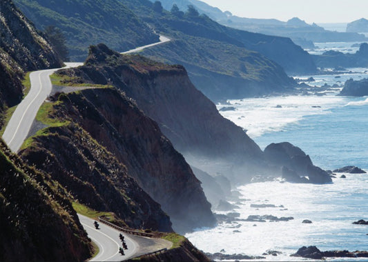 MAY 4,5&6 - PEBBLE BEACH, CALIFORNIA - RIDE THE PCH+QUAIL MOTORCYCLE GATHERING